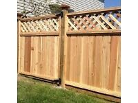 laminate fiters, decking , wood fence panels