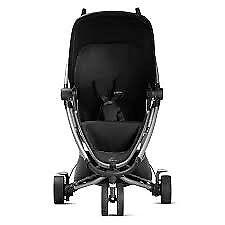 Quinny zapp extra 2 black forward rear facing pushchair