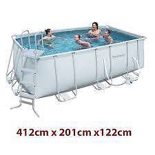 Bestway above ground swimming pool Southport Gold Coast City Preview