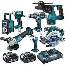 Looking for makita 18V tools, chargers, batteries
