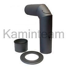 edelstahlschornstein set kamine kaminzubeh r ebay. Black Bedroom Furniture Sets. Home Design Ideas