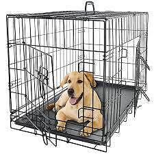 "DOG CRATES  XXL 48"" COMES WITH DIVIDER boxes had water damage Skye Frankston Area Preview"