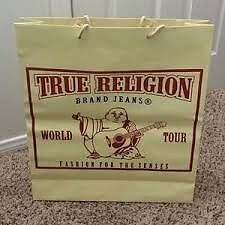 Brand new women's True Religion jeans with tags and retail bag!