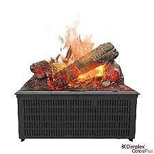 opty-mist natural flame electric fire unit