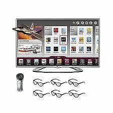 TV LG 55'' SMART LED ,3D + 4 LUNETTES GRATUITES+REMOTE MAGIC