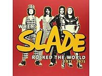 SLADE BOXED SET WHEN SLADE ROCKED THE WORLD 1971-1975 SEALED LIMITED EDITION