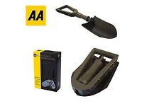 AA foldable showel, new