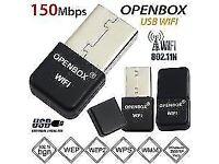 Openbox Skybox Wifi Dongle USB Antenna For F3 F3s F5 F5s V8 V8s V8se zgemma vu solo MAG 250 IPTV