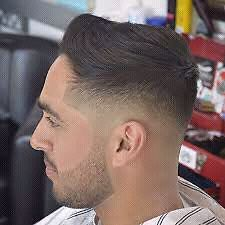Mens hair cut and grooming (fades)