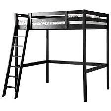 IKEA loft bed black