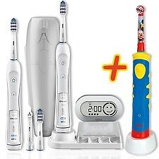 Familyset Oral-B TriZone 6500 mit 2. Handstück + Oral-B Advance Power Kids 950TX