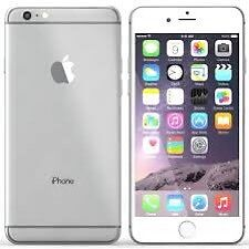iphone 6 plus white/silver on EE