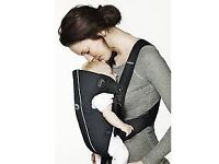 2 x Baby Bjorn baby carriers in Original & Active so first (just born) & next level Good condition