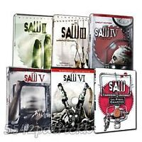 Saw: The Complete Movie Collection DVD  1 to 7 $30 Moncton New Brunswick Preview