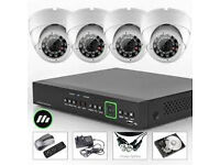 HD AHD IP cctv cameras system supplied and fitted ptz available