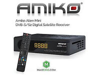 AMIKO EXTRA COMBO CABLE HD SD BOX WIFI WITH 12 MONTH GIFT MAG BOX SKYBOX