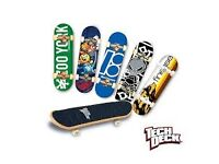 Teck deck, finger boards, ramps and accessories