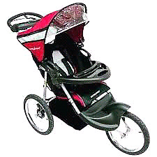 BABY TRENDS EXPÉDITION JOGGER STROLLER($100 extras included