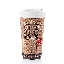 Bargain Clearance Corky Cup Reusable Insulated Large Travel Cup Mug To Go - Smoke & Pet FREE Home