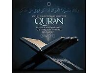 Morning 1-1 online classes for females to learn Quran from beginning.