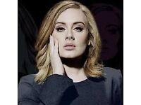 ADELE x 1 ticket!! Wembley Stadium June 28th 2017!!