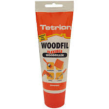 Tetrion Natural Woodfil Professional Woodfiller 330g (Discount pack of 10)