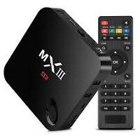 MX3 Android TV box  fully loaded