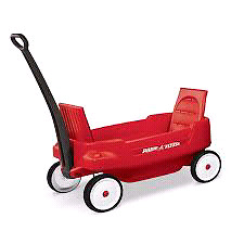 Wagon Radio Flyer