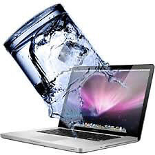 MacBook Air, Pro, Retina Water/ Liquid Damaged Repair + WRTY