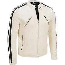White Leather Jacket | eBay