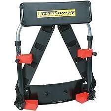 Breakaway seat box back rest