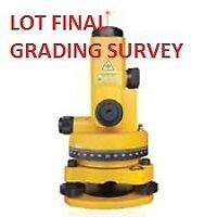Best Price of Professional Topsoil Grading Survey, Welcome Lands