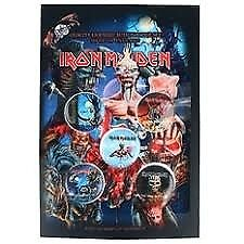 Iron Maiden Badges (Pack Of 5)