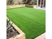 WM Waste Management Ltd Cardiff. Landscaping, artificial grass, PVC decking, fences, driveways.