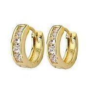 Men Diamond Hoop Earrings