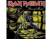 Iron Maiden block 216 row A. £100 each 6th August man arena.