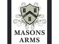 Commis Chef/Junior CDP Required For Best Food Pub in Frome - The Masons Arms, Marston Gate