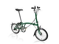 Brompton m3l in green