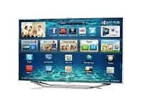 """60""""Samsung smart tv selling it for £400,price is negotiable. need quick sale"""