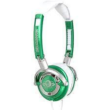 Skullcandy Lowrider Headset, Green & White