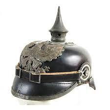 WW1 German Pickelhaube helmet