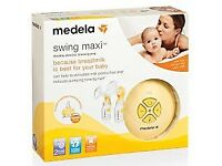 Medela swing maxi double breast pump