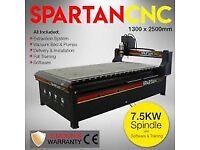 radical cnc router spartan 1325