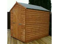 Shed builder/flagger/fencer/jet washing patios driveways /gardening/garden maintenance