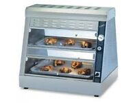 Hot display cabinet fried chicken COBOL NEW 4 trays 2 tier commercial