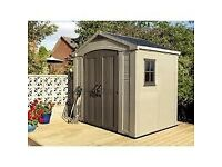 Keter 8 x 6 shed brand new in box