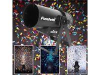 Chauvet Funfetti cannon with 10kg confetti machine DJ disco club stage theatre dmx paper party