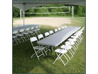 Tables & Chairs Hire