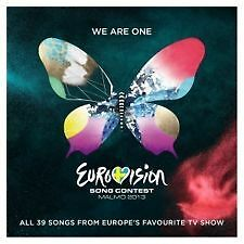 'EUROVISION SONG CONTEST : MALMO 2013' 2 CD SET