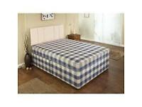 SAME DAY- BRAND NEW DOUBLE DIVAN BED AND ECONOMY MATTRESS ** SINGLE/KINGSIZE AVAILABLE
